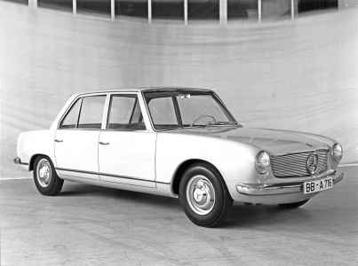 1960 Mercedes-Benz W118/W119 Prototype