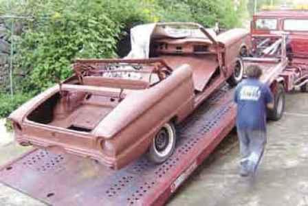 1963 Ford Falcon Futura resto