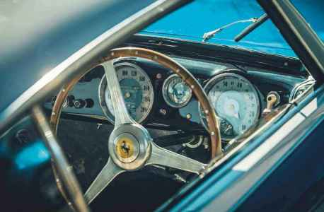 1950 Ferrari 195 Inter Vignale interior