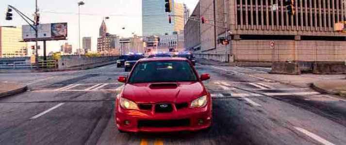 SUBARU WRX STI Baby Driver (2017)