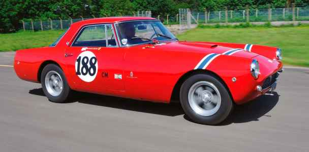 1959 Ferrari 250 GT PF Coupe Bowtie 5.7-litre Chevy V8-engined