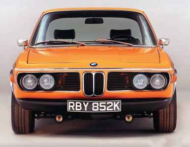 1971 BMW 3.0 CSL E9 'Carburettor'
