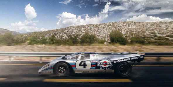 Porsche 917 road test