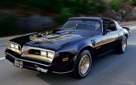 1978 Pontiac Firebird Trans Am 'Bandit' SE driven