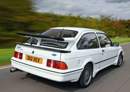 Ford Sierra Cosworth RS500 and Ford Escort RS Cosworth