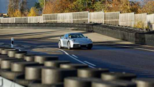 As the World Premiere nears, Mark Webber drives the new Porsche 911