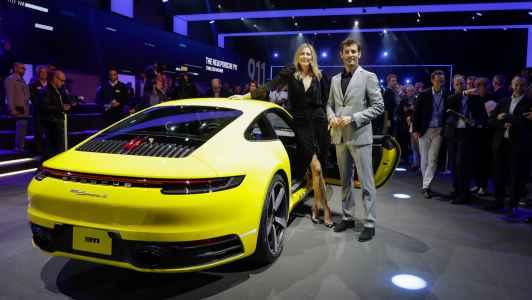 2020 Porsche 911 Carrera 4S 992 Los Ahgeles