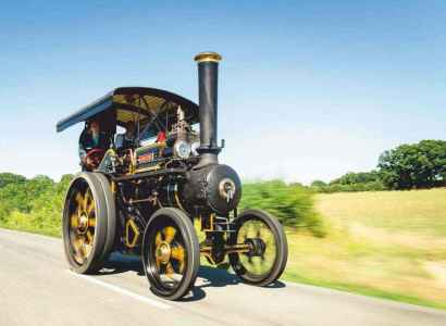 1927 Fowler steam tractor 'Colleen'