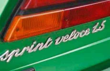 1981 Alfa-Romeo Alfasud Sprint Veloce 1.5
