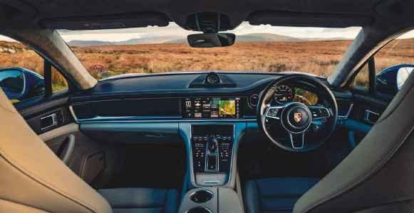 2020 Porsche Panamera Turbo S E Hybrid Sport Turismo 971 Drive