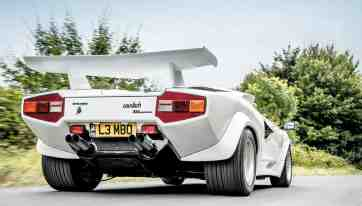 Prova Mirage Lamborghini Countach Replica Road Test Drive