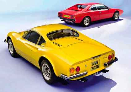 1973 Dino 246GT vs. 1979 Ferrari Dino 308GT4