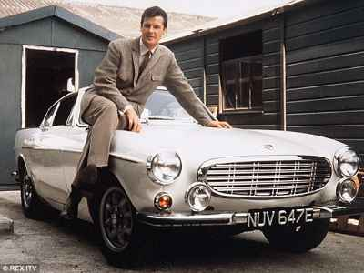 Roger Moore drove this 1967 Volvo P1800S Coupe in '60s TV series The Saint