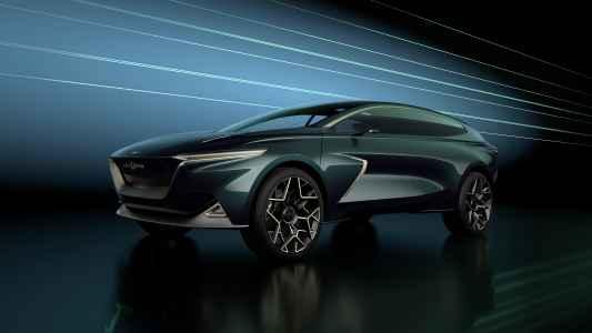 Lagonda All-Terrain electric SUV concept