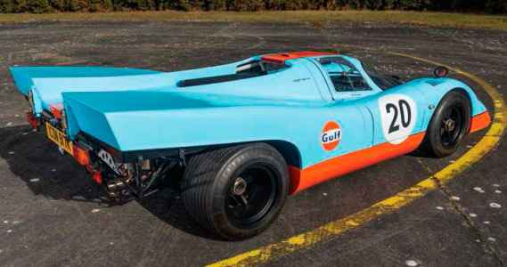 Stunning replica JW Automotive Porsche 917