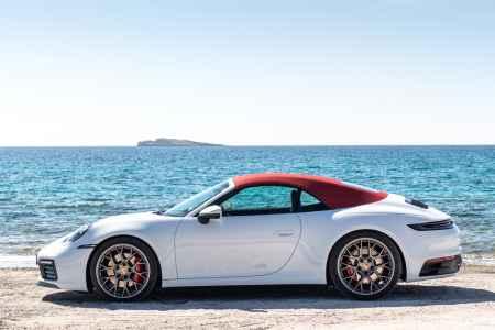 2020 Porsche 911 Carrera 4s Cabriolet 992 Drive