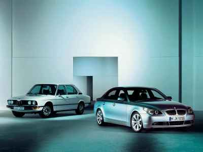 BMW 5-Series generations E12 and E60