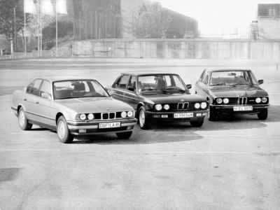 BMW 5-Series generations