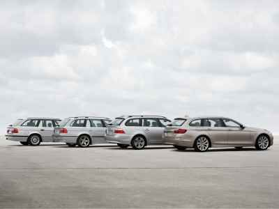 BMW 5-Series Touring generations