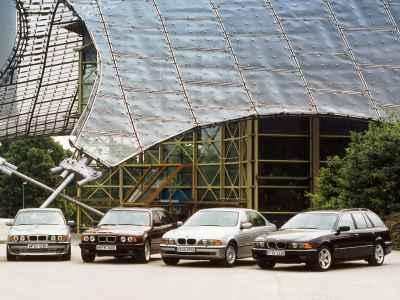 BMW 5-Series Touring E34 and E39