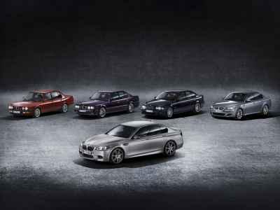 BMW M5 generations