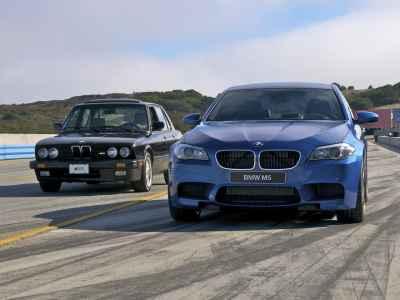 BMW M5 E28 vs M5 F10