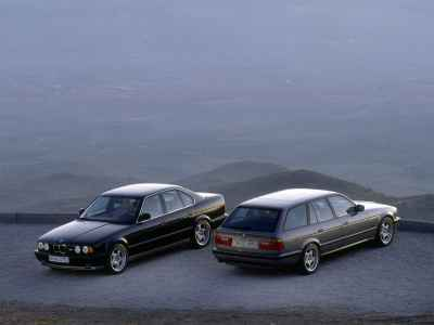 BMW M5 E34 Sedan and Touring