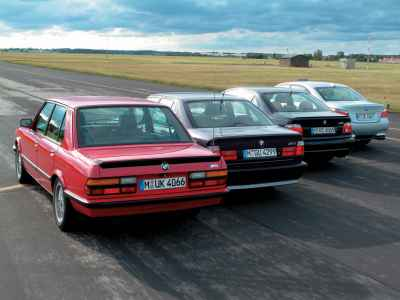 BMW M5 - E28, E34, E39 and E60