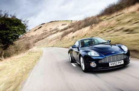 2002 Aston Martin Vanquish