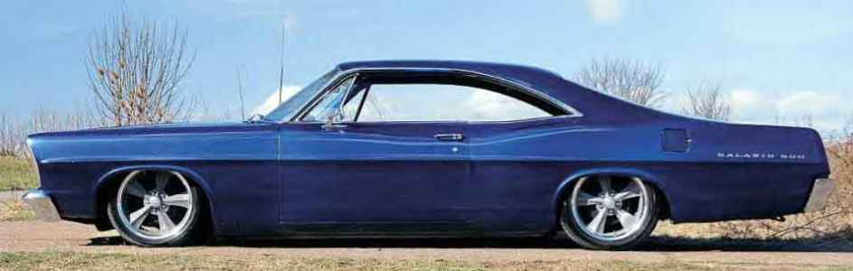 1967 Ford Galaxie 500 Fastback Coupe