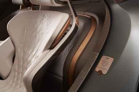 Bentley EXP 100 GT Concept interior