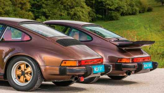 1974 Porsche 911 2.7 Carrera MFI Model G-Series vs. 1975 911 Turbo 930 3.0