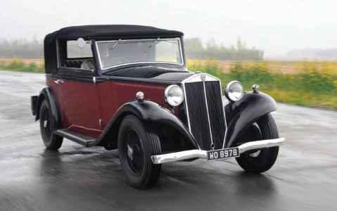 1934 Lancia Augusta Cabriolet