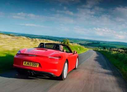 2014 Porsche Boxster 2.7 981