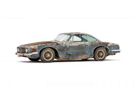1961 Maserati 5000 GT Coupe by Ghia