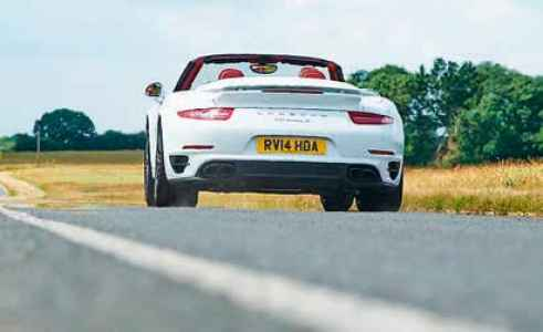 2014 Porsche 911 Turbo S Cabriolet 991.1 - road test