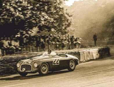 1949 Ferrari 166MM Touring Barchetta - road test