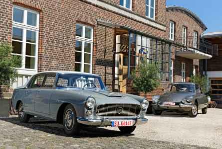 Lancia Flaminia Berlina vs. Citroën DS 21 Pallas