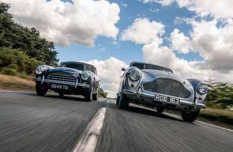 1962 AC Aceca Coupe 2.6 vs. 1957 Aston Martin DB MkIII