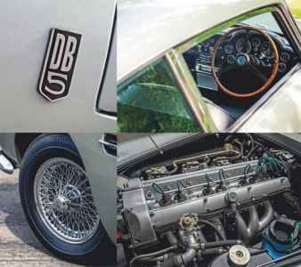 Bond's Astons - from DB5 to DBS V12, the cars that built the 007 legend