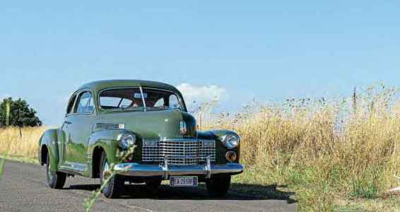 1941 Cadillac Series Sixty-One five-passenger coupe