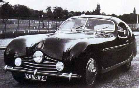 1948 Talbot Lago T26 Grand Sport Figoni Fastback Coupe created for the 'Zipper King'