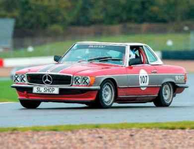 1978 Mercedes-Benz 450SL R107 Track Car