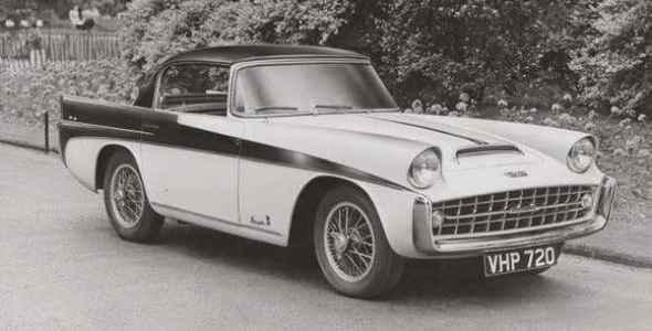 1957 Triumph TR3 Speciale Vignale