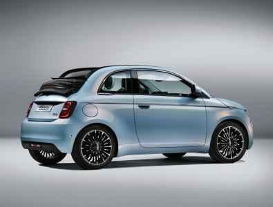 """Fiat 500 """"la Prima - Italia"""" Cabrio"""