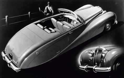 1948 Daimler DE 36 DHC 'Green Goddess'