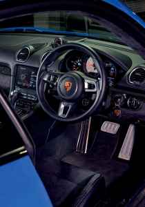 2021 Porsche 718 Cayman GTS 982C - 2.5-litre turbocharged