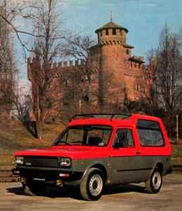 Pioneering 1978 Coriasco Fiat 127 Farm