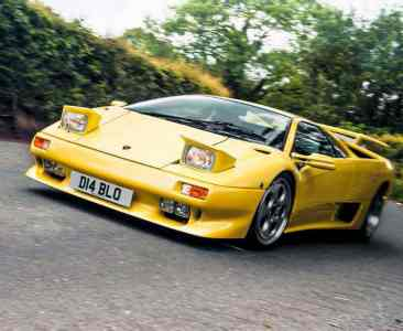 1999 Lamborghini Diablo VT Coupé road test