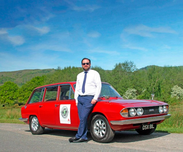 Company car Triumph 2.5PI Estate
